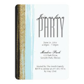 Invitación elegante moderna del fiesta - Editable