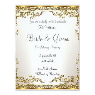 Invitación elegante   popular del boda