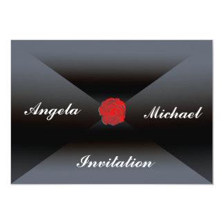 Invitación elegante y agradable de la invitación