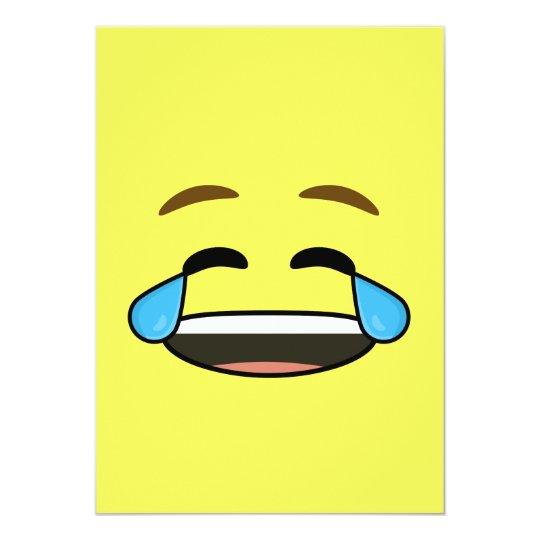 Invitación Emoji De Risa