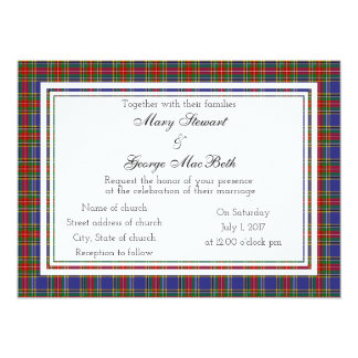 Invitación escocesa del boda de Macbeth