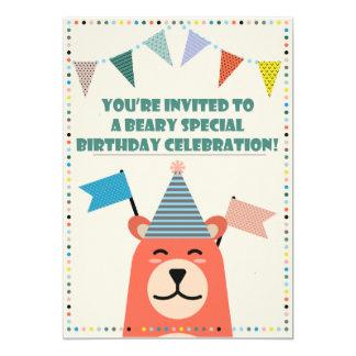 Invitación especial del muchacho del cumpleaños de