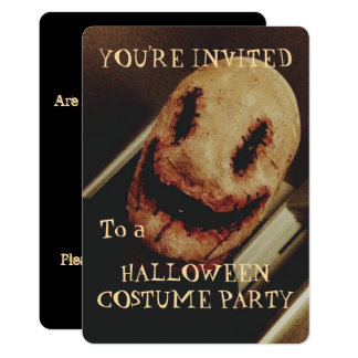 Invitación espeluznante del fiesta de Halloween