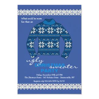 Invitación fea de la celebración de días festivos