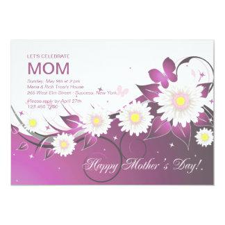 Invitación feliz del día de madre