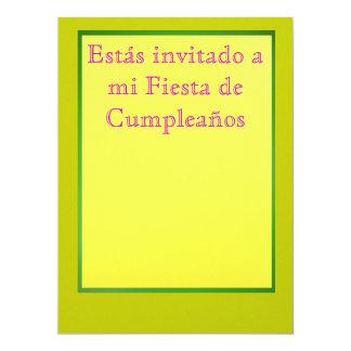 Invitación - Fiesta de Cumpleaños