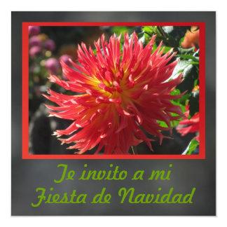 Invitación - Fiesta de Navidad - La Dalia