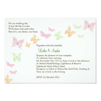 Invitación final del boda de Sophie