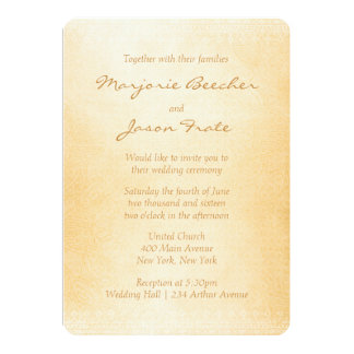 Invitación floral Brown del boda del batik único