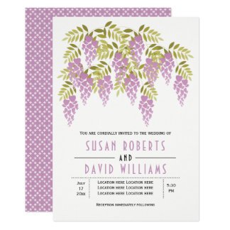 Invitación floral del boda de la primavera de las