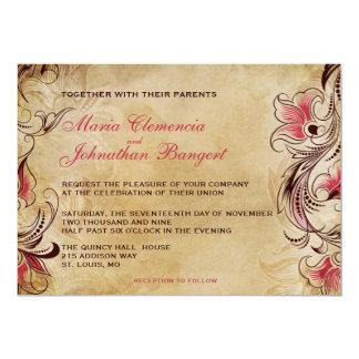 Compra tus invitaciones de boda con diseños clásicos en la gran selección de Zazzle.