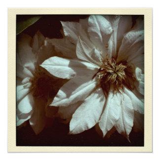 Invitación floral del entierro de la fotografía 2