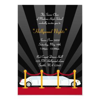 Invitación formal del baile de fin de curso del