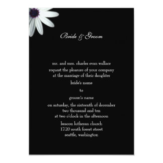 Invitación formal del boda