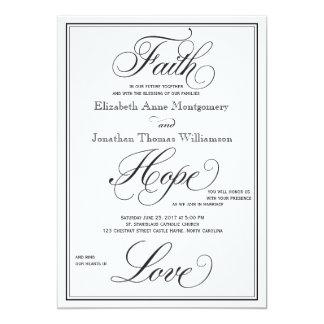Tarjeta Invitación formal del boda de la escritura del