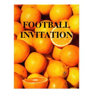 Invitación fresca del partido de fútbol de los nar