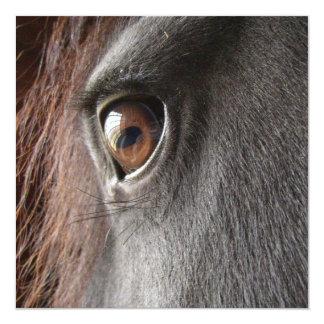 Invitación frisia del ojo del caballo