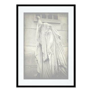 Invitación fúnebre - recuérdeme… invitación 12,7 x 17,8 cm
