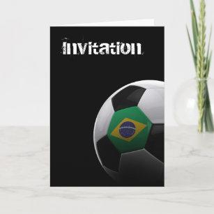 Invitación Fútbol En El Brasil