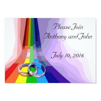 Invitación gay del boda