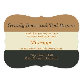 Invitación gay simplificada del boda del orgullo