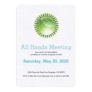 Invitación global de la reunión de la juventud