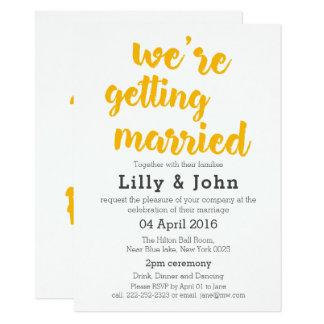 Invitación hermosa rústica del boda