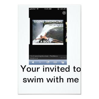 Invitación impresionante