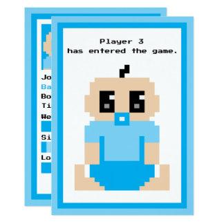 Invitación inscrita del bebé de The Game del