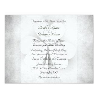 Invitación irlandesa del boda del corazón del