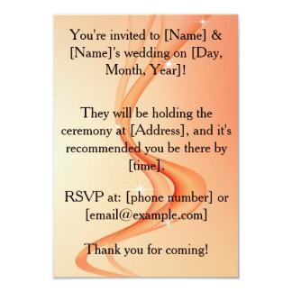 Invitación lesbiana personalizada del boda invitación 8,9 x 12,7 cm