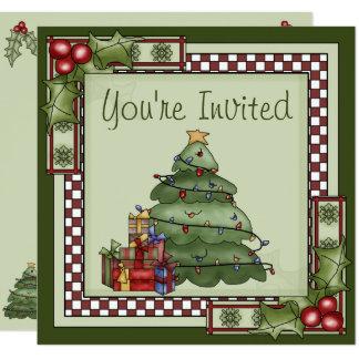 Invitación linda de la celebración de días