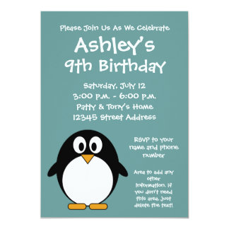 Invitación linda de la fiesta de cumpleaños del