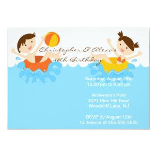 Invitación LINDA del cumpleaños de la fiesta en la