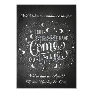 Invitación linda del embarazo