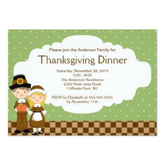 Invitación linda del fiesta de cena de la acción invitación 12,7 x 17,8 cm