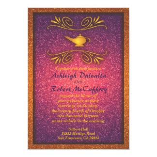 Invitación mágica colorida 2 del boda de la