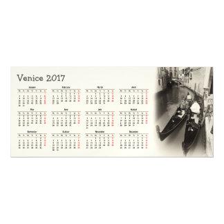 Invitación Magnética Calendario de Venecia, Italia 2017