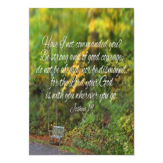 Invitación Magnética Escritura del cristiano del verso de la biblia del