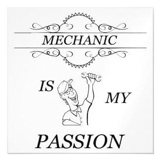 Invitación Magnética Mecánico