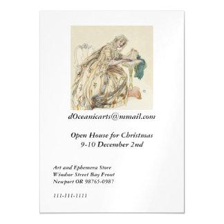 Invitación Magnética Navidad secreto