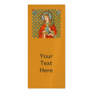 """Invitación Magnética St. Barbara (JP 01) 4"""" x9 """""""