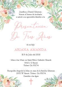 b25028086 Invitación Masa de tres años de la presentación de Latina