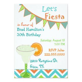 Invitación mexicana colorida de la fiesta de