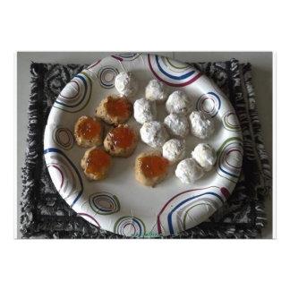 Invitación mexicana de las galletas del boda