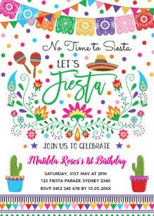 Invitaciones Fiesta Mexicana Zazzle Es