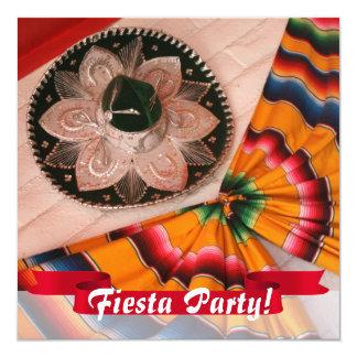 Invitación mexicana del fiesta de la fiesta del
