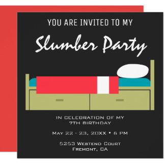 Invitación moderna del cumpleaños de la fiesta de