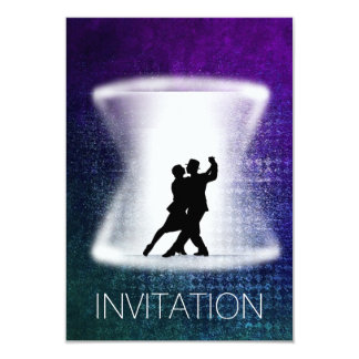 Invitación moderna del Vip de la danza latina del