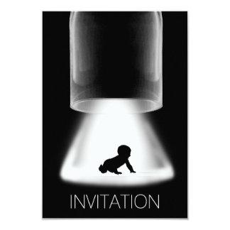 Invitación moderna del Vip del nuevo bebé de la